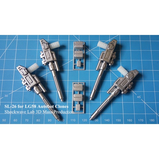 Shockwave Lab SL-26 for LG58 Autobot Clones
