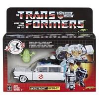 Hasbro Transformers Ghostbusters Ecto-1 Ectotron