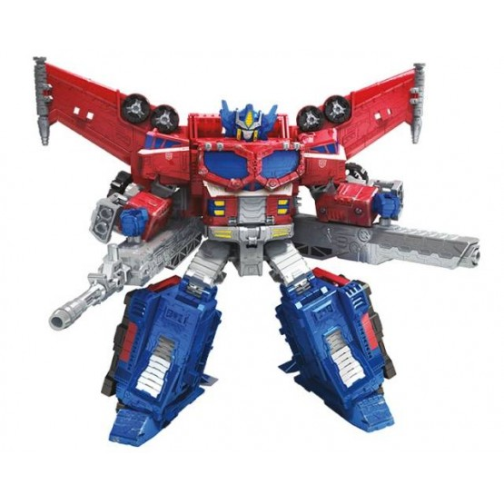 Transformers War for Cybertron Siege: Leader Optimus Prime