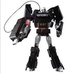 TakaraTomy Playstation Optimus Prime + SEGA 16-Bit Megatron