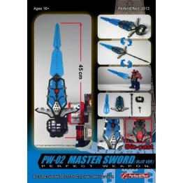Perfect Effect - PW-02  Blue  Master Sword