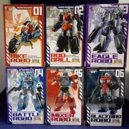 Action Toys Machine Robo MR 01- 06