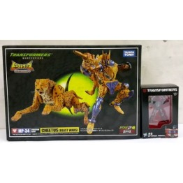 TakaraTomy Transformers MP-34 Beast War Cheetor + mini figure