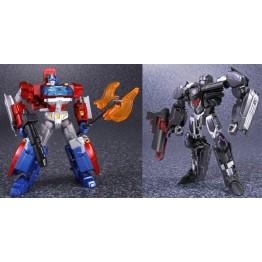 TakaraTomy Generations TG-25 Orian Pax vs Megatronus