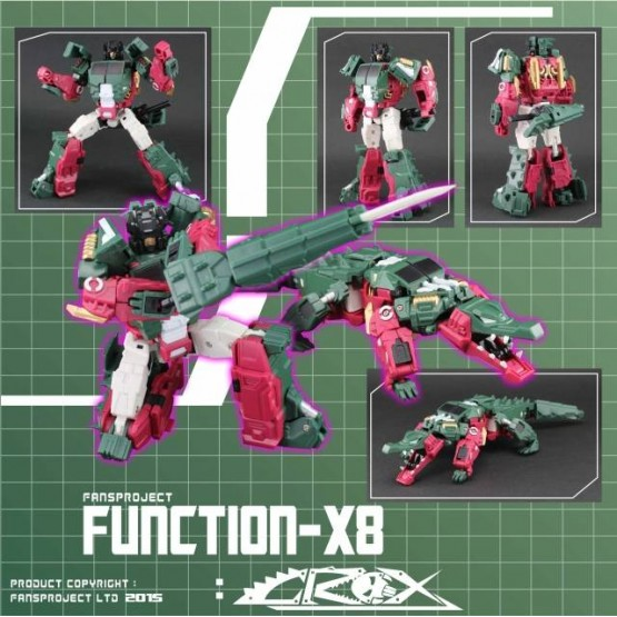 Fansproject  Function X8 Crox