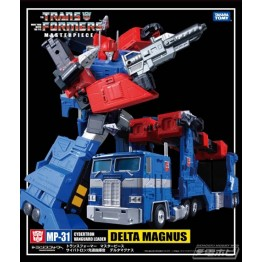 TakaraTomy MP-31 Delta Magnus Diaclone with coin