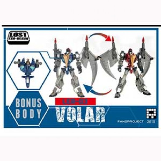 Fansproject  Lost Exo-Realm - LER-03 Volar and Velos