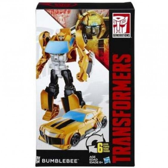 Hasbro Transformers Generations Leader Bumblebee (6 Steps)