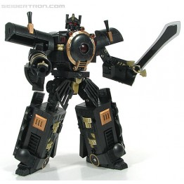 MMC KM-02 Hearts of Steel OP - Knight Morpher Black Com