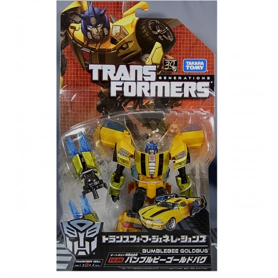 Transformers Generations TG-26 Bumblebee Gold Bug