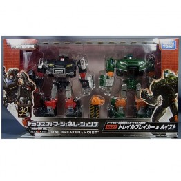 TakaraTomy Transformers Generations TG-27 Trailcutter & Hoist