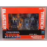 Mech ideas: Mech Ideas Techno Toon Titans Bluster and Trencht