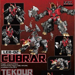Fansproject  Lost Exo-Realm - LER-02 Cubrar & Tekour