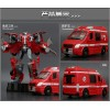Diecast Fire Rescue Robot 5