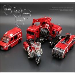 Diecast Fire Rescue Robot 5