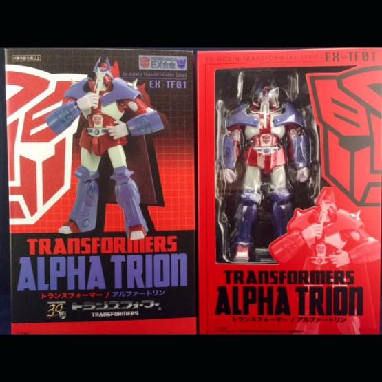 Art storm EX Gokin Cybertron Alpha Trion