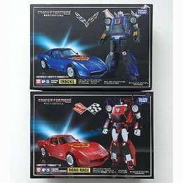 TakaraTomy MP-25 +26 Tracks & Road Rage +coin