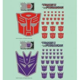 Transformers Logo Sticker Set