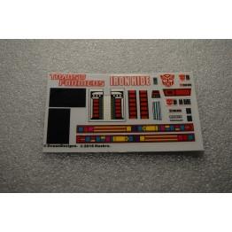 MP-27  Ironhide Decal Sticker