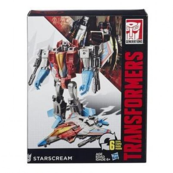 Hasbro Transformers Generations Starscream (6 Steps)