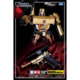 TakaraTomy MP Megatron MP-05G  30th Anniversary Exclusive  Gold Version