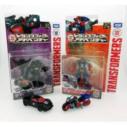 TakaraTomy Transformers Adventure TAV-25 Runabout & TAV-26 Override