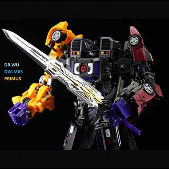 Dr Wu  DW-M03 - Primus Sword - Sliver