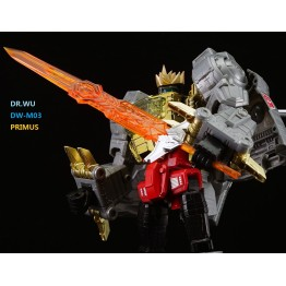 Dr Wu DW-M03 - Primus Sword - Orange