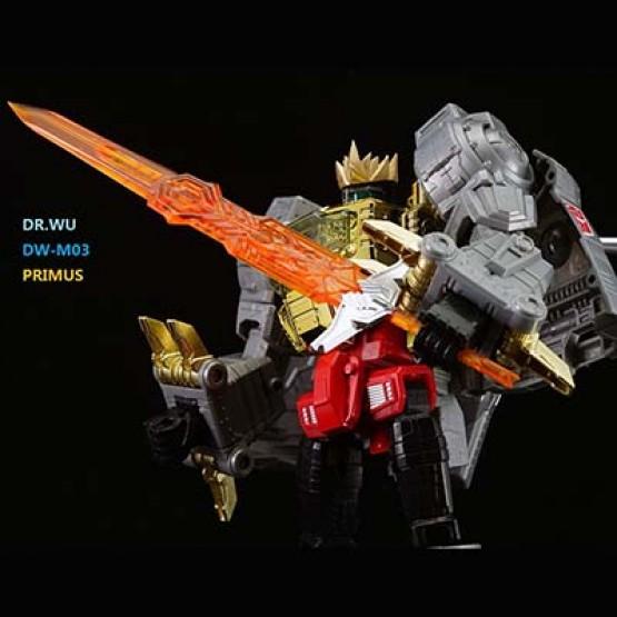 Dr Wu DW-M03 - Primus Sword - Orange
