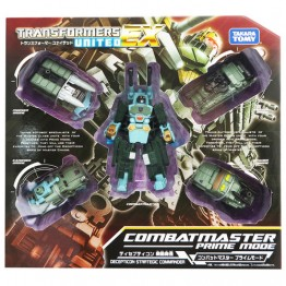 TakaraTomy Transformers Combatmaster Prime Mode EX-01 United EX