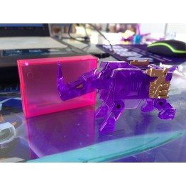 KFC CST-01E Energy Evil Rhinohorn (Clear Purple)