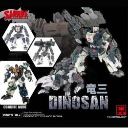 Fansproject - Saurus Ryu-Oh - Dinosan (3)