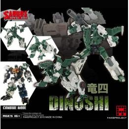 Fansproject - Saurus Ryu-Oh - Dinoshi (4)