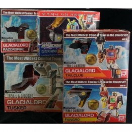Fansproject Retro-Future Glacialord Full Set  with Sticker book