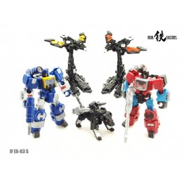 IronFactory ~ IF-EX03S Upgrade Figure Set of 5