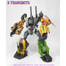 XTransbots~ Boosticus Upgrade Kit (BEK-Dark Force)