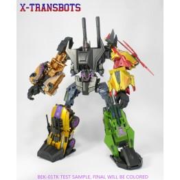 XTransbots~ Boosticus Upgrade Kit (BEK-Dark Force)