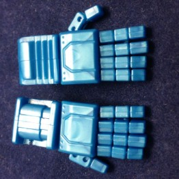 KFC- KP-14B posable hands for MP-11 (Blue)