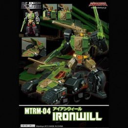 MakeToys MTRM-04 Ironwill  with Replacement Parts