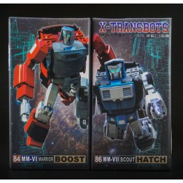 X-Transbots MM-VI Boost  & MM-VII Hatch