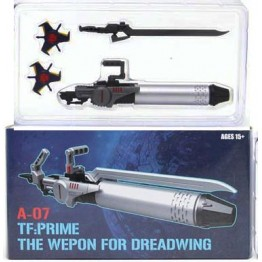 SXS A-07 Weapon Set (Blue)