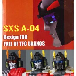 SXS A-04 TFC Uranos head upgrade kit