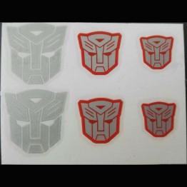 Transformers Logo Sticker Autobot  6 Pcs Set