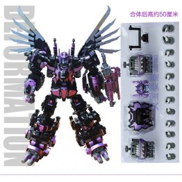 Jinbao Oversize MMC Feral Rex + Upgrade parts ( Black VER)