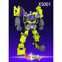 X2TOYS AND shadow fisher XS001 for IDW Devastator (Rerun)