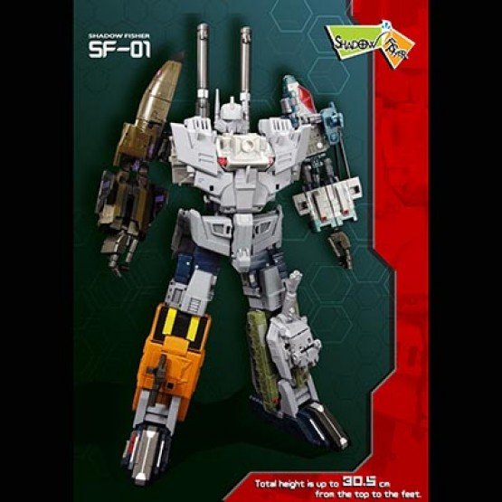 Shadow Fisher SF-01 FPJ  1 Heavy Arms Upgrade Kit