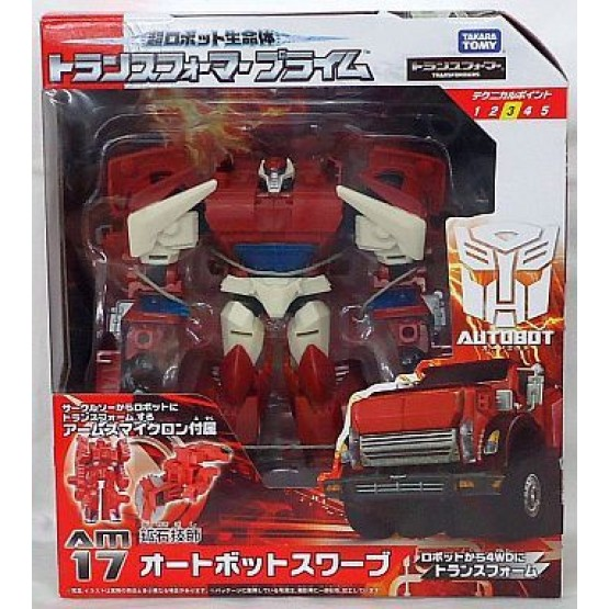 TakaraTomy Transformers Prime AM-17 SWERVE