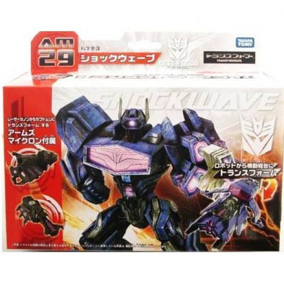 TakaraTomy Transformers Prime AM-29 SHOCKWAVE