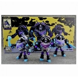 Unique Toys G02  Sharky Set of 3