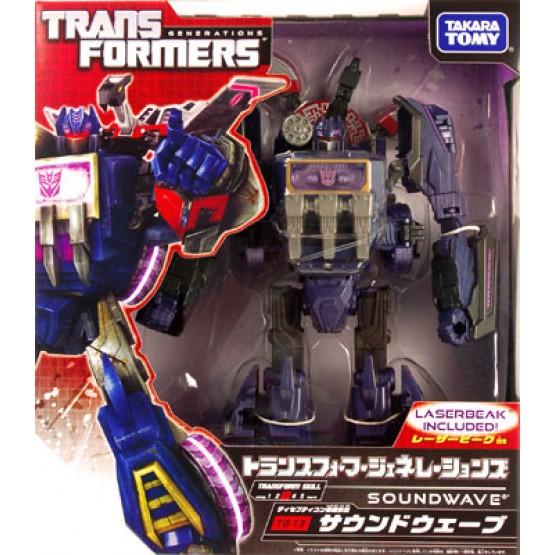 Transformers Fall of Cybertron FOC Generations TG-13 Soundwave